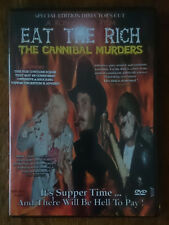 Eat The Rich  The Cannibal Murders DVD Ron Atkins Special edition Director's Cut