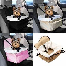 More details for travel folding dog cat pet safety belt cover puppy booster car carrier seat bag