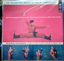 Khachaturian/Kabalevsky/Ormandy  Gayne Suite, The Comedians   Columbia