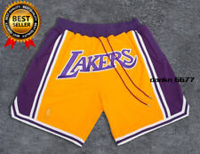 Short Lakers Yellow Shorts Embroidered