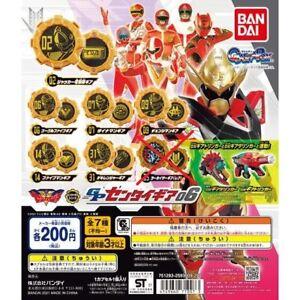 Kikai Sentai Zenkaiger GP SENTAI GEAR Vol.6 Set of 6 Bandai MMPR NEW FedEx