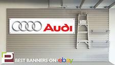Audi Taller / Garage Banner Tt, A3, A4, A6, A7, Quattro, Rs3 Rs4, Rs6, R8