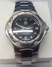 Mens Tag Heuer Stainless Steel Watch M#VTHWL111DBA0700 Swiss Quartz Movement