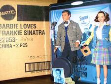 Barbie Loves Frankie Sinatra Set Mib 1999 w shipper 2 Dolls Mint
