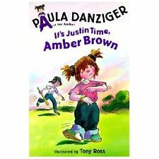 It's Justin Time, Amber Brown (A is for Amber) (Puffin Easy-to-Read, Level 3) D
