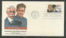 # C114 LAWRENCE & ELMER SPERRY, AVIATION 1985 FLEETWOOD First Day Cover