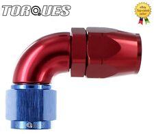 AN -6 (AN6 JIC -6 AN 06) 90 Degree ULTRAFLOW Swivel Seal Hose Fitting
