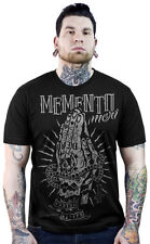 Sourpuss Kustom Kreeps Memento Mori Death Tee Shirt Punk Tattoo Praying Hands L