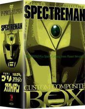 SPECTREMAN CUSTOM COMPONENT BOX-JAPAN 10 DVD BU50 rd