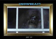 MAGNET  Movie Monster SNOWBEAST 1977 TV