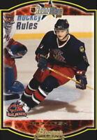 2002-03 Bowman YoungStars Blue Jackets Hockey Card #155 Rick Nash Rookie