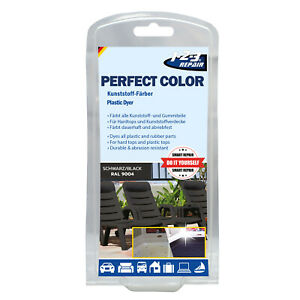 Kunststoff Plastik Farbe Schwarz Matt, Farbauffrischer Kunststoff, Gummifarbe