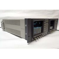TEKTRONIX WFM 601i SERIAL COMPONENT MONITOR WITH 1760 WAVEFORM/VECTOR MONITOR