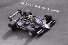 9x6 Photograph, Ronnie Peterson  JPS Lotus 79  Italian GP  Monza 1978