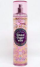1 Bath & Body Works TWISTED PEPPERMINT Fine Fragrance Body Mist Spray