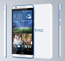 "HTC Desire 820 Dual SIM 4G LTE 13MP 16GB GPS 5.5"" Unlocked Smartphone White Blue"