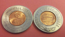 2015 Libros ARYBET PONCE KEEP ME NEVER GO BROKE Encased Lucky Penny PUERTO RICO