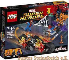 LEGO® Spider-Man: 76058 Ghost Riders Verbündete & 0.-€ Versand & NEU & OVP !