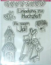 Efco Clear Stamp A7 - Einladung Zur Hochzeit