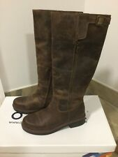 BNIB Office Eagle Casual Buckle Boot Brown Leather Size 7