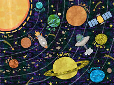 Kids Solar System Learning Poster - A4 260gsm