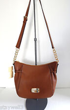 MICHAEL KORS Megan Large Top Zip Messenger/X-Body Bag w/Adj.Strap  NWT $328 +Tax