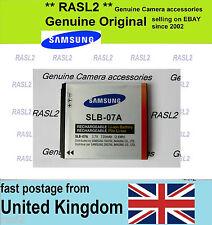Genuine Samsung SLB-07A Battery ST510 ST560 PL150 PL151 TL90 TL100 TL220 TL210