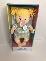 Manhattan Toy Baby Stella Blonde Soft Nurturing First Baby Doll for Ages 1 Year