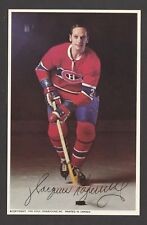 1969-71  MONTREAL CANADIENS POSTCARDS  JACQUES LAPERRIERE   INV  J7358