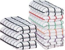Multi-Buy 100%Premium Egyptian Cotton Jumbo Terry Tea Towels Kitchen Dish Towels