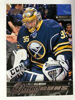 2015-16 UD Young Guns Rookie Linus Ullmark