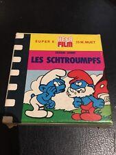 Film Super 8:  Les Schtroumpfs  Et Les Oiseaux