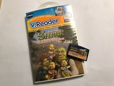 VTech V. Reader V-Lecteur de logiciels de jeux Dreamworks Shrek Shrek's vacation + Boîte