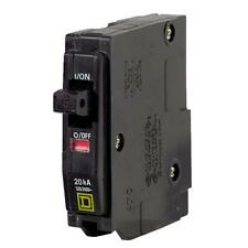 100 pk Square D QO 20A Single-Pole Standard Trip Circuit Breaker Model: QO120CP