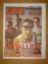 NME 1997 NOV 15 METALLICA PULP BJORK SPACE MOGWAI REM