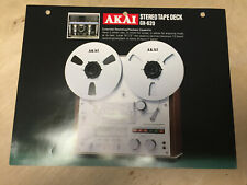 Vtg Akai Brochure GX-620 Reel Tape Deck