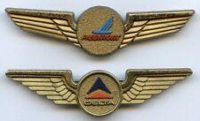 Piedmont and Delta Airlines Junior Pilot Vintage Plastic Badge Pin Nice Grade !!