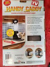 New ListingHandy Caddy Sliding Counter Tray for Coffee Machine Toaster & more As Seen on Tv
