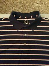 Men's FootJoy Short Sleeve Polo Shirt Size XL