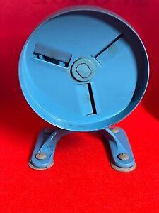 Spong & Co Ltd Bean Slicer No 102 Vintage Kitchen Made In England Sky Blue Vgc