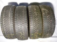 4x Bridgestone Blizzak W810 205/65R16C107/105T 4x5mm DOT1713  #75#