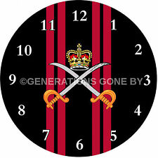 ARMY PHYSICAL TRAINING CORPS GLASS WALL CLOCK