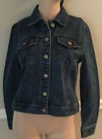 Jones New York Madison Wash(Dark Blue) Denim Jacket Size Small or Large NWT