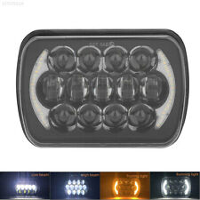 """7x6'' 5X7"""" Hi-Lo Beam Working Lamp Headlights for GMC Jeep  Ford Chevrolet 105W"""