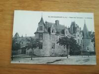 CPA - CHATEAUBRIANT - PLACE DES TERRASSES - CHATEAU ENVIRON 1900