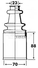 Borg & Beck Driveshaft Bellow CV Joint Boot Kit BCB2913 - 5 YEAR WARRANTY