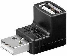 Goobay USB 2.0 Hi-Speed Adaptor USB 2.0 plug type A to USB 2.0 jack Type A 90°