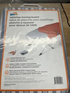 """Folding Light And Portable Ironing Board, by """"Honey Can Do Intl"""" 32x12x7  Sealed"""