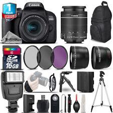 Canon Rebel 800D T7i DSLR Camera + 18-55mm IS STM + 1yr Warranty - Saving Bundle