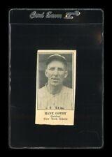1925-31 W590 Set Break Hank Gowdy HAND CUT *GMCARDS*